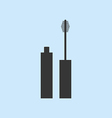 Mascara Make Up Icon vector image