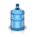 object big bottle vector image vector image