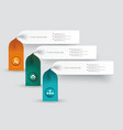 option banners can be used for price list widget vector image vector image