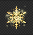 symbol of new year eve and christmas elegant vector image vector image