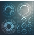 technology element technological background vector image vector image