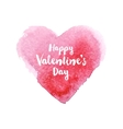 hand drawn Valentines day card vector image