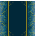 Vintage background for greeting or invitation card vector image