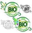 Bio symbol vector image vector image