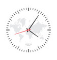 clock watch icon vector image vector image