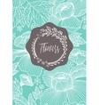 Creative template card