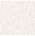 Leopard print seamless pattern vector image vector image
