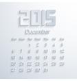 modern 2015 calendar Eps 10 vector image vector image
