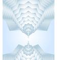 north polygonal vector image vector image