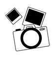 photographic camera pictures vector image vector image