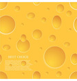 seamless cheese background Eps10 vector image