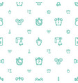 bell icons pattern seamless white background vector image vector image