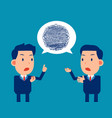 business team confusing communication vector image vector image