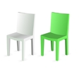 Chair Isolated on white Background vector image vector image