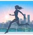 City Run vector image