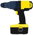 Drill driver vector image
