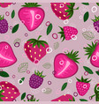 fruit mix pattern 2 vector image vector image