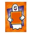 Halloween Ghost vector image vector image