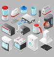 household appliances kitchen homeappliance vector image