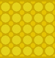 simple seamless pattern - circle background design vector image vector image