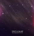 star night space background vector image vector image