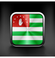 Abkhazia icon flag national travel icon country vector image