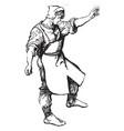 blacksmith vintage vector image vector image