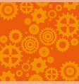 gears machine pattern background vector image