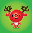 Rudolph Character vector image vector image