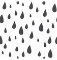 Baby seamless pattern Light fun rain print vector image vector image