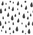 Baby seamless pattern Light fun rain print vector image