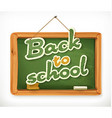 Back to school Schoolboard icon vector image vector image