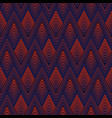 colorful geometric seamless sports pattern vector image