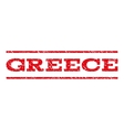 Greece Watermark Stamp vector image