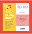 love music business company poster template with vector image