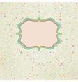 Polka Dot Card vector image vector image