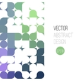 bright abstract retro design background vector image vector image