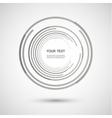 color line twirl design vector image vector image