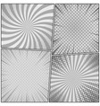 comic monochrome design composition vector image vector image