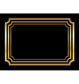 gold frame beautiful simple style