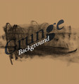 grunge background template for overlays on vector image vector image