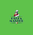 logo for the italian pizzeria vector image