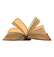 open book symbol icon design beautiful vector image