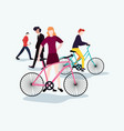 people activities concept vector image