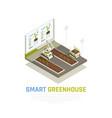 smart farming concept vector image vector image