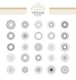 Sunburst vector image vector image