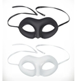 Theatrical masks icon vector image vector image