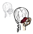 female Hairstyles vector image