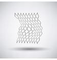 Fishing Net Icon vector image vector image