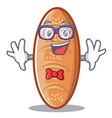 geek baked bread character cartoon